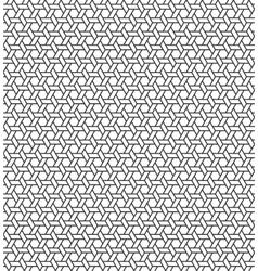 Seamless Geometric Pattern Regular Tiled Ornament vector image