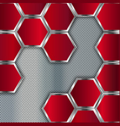 Abstract metal background geometric background vector