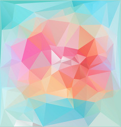 bright lowpolygonal vibrant pattern vector image vector image