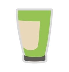 cosmetic plastic bottle icon vector image