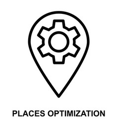 Places optimization vector
