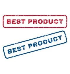 Best product rubber stamps vector