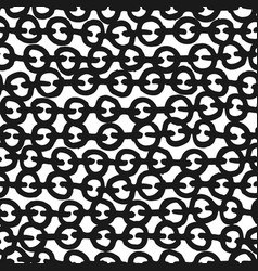 decorative hand drawn seamless pattern vector image