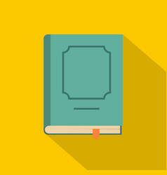 book design icon flat style vector image