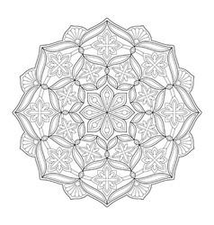 Mandala ornament 63 vector