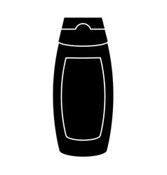 shampoo bottle isolated vector image vector image