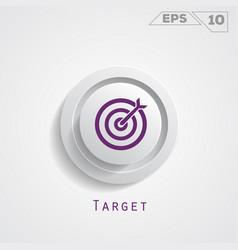 target circle icon vector image