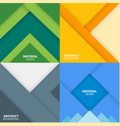 Material design backgrounds vector