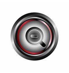 Zoom icon vector