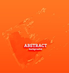 Bright orange abstract background vector