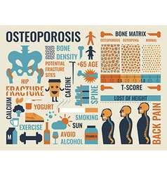 Osteoporosis vector