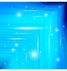 Blue background with sparkle vector image vector image
