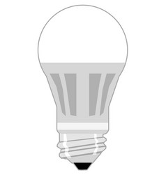 Led lamp flat style vector