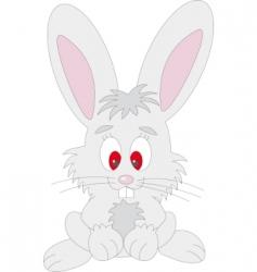 rabbit vector vector image vector image
