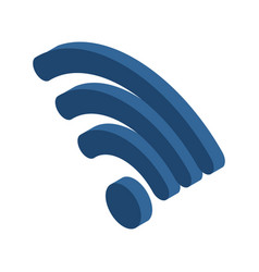 wi-fi sign wifi symbol wireless connection icon vector image vector image