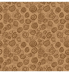 Abstract chocolate swirls vector