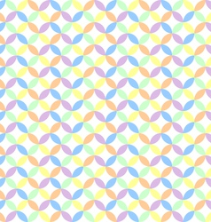 circle pastel background vector image