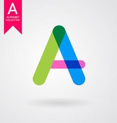 Creative letter vector