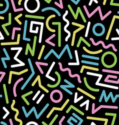Seamless background 80s30 vector