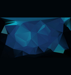 blue low polygonal texture futuristic vector image vector image