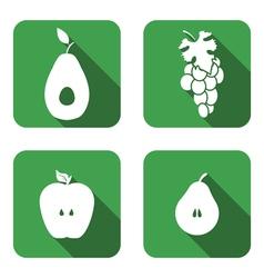 Set square icon vector