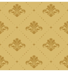 Seamless pattern background baroque vector