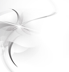 gray stripes vector image
