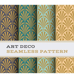 Art deco seamless pattern 02 vector