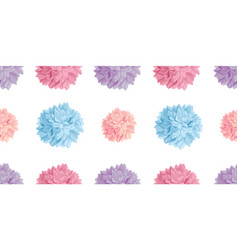Fun pastel colorful birthday party paper vector