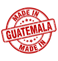 Made in guatemala vector
