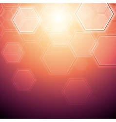 Technology abstract design vector image