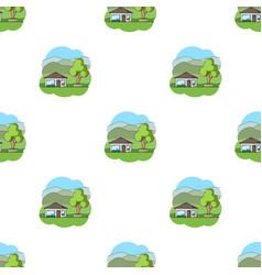 vacation homerealtor single icon in cartoon style vector image vector image