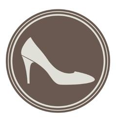 Vintage shoe logo vector