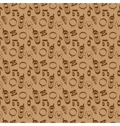 Cellular communication Icons Seamless pattern vector image