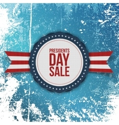 Presidents Day Sale american Holiday Banner vector image