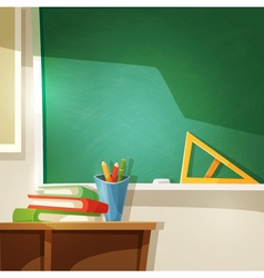 Classroom cartoon vector