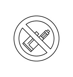Vape e cigarette vector