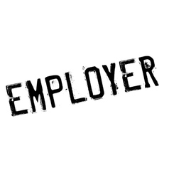 Employer rubber stamp vector