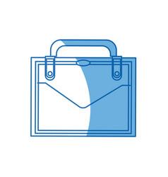 business suitcase portfolio elegant acessory image vector image