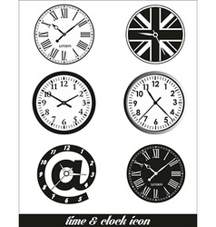 Time and clock set vector