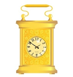 Carriage clock vector
