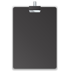 Black clipboard vector