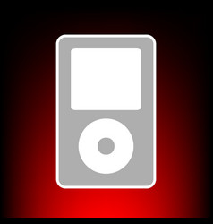 Ptable music device vector