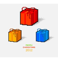 2012 christmas greeting card vector