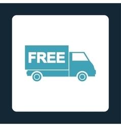 Free shipment icon vector