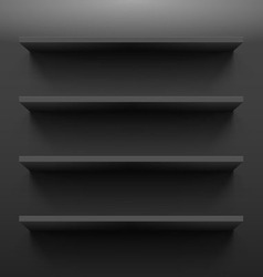 Shelves vector