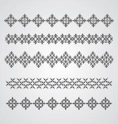 Border Elements vector image