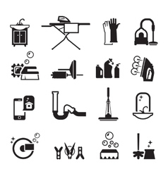 Purity icons set vector
