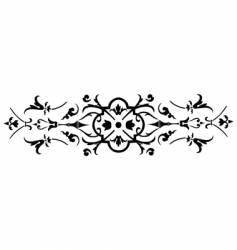vintage ornate design vector image vector image