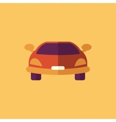 Car transportation flat icon vector